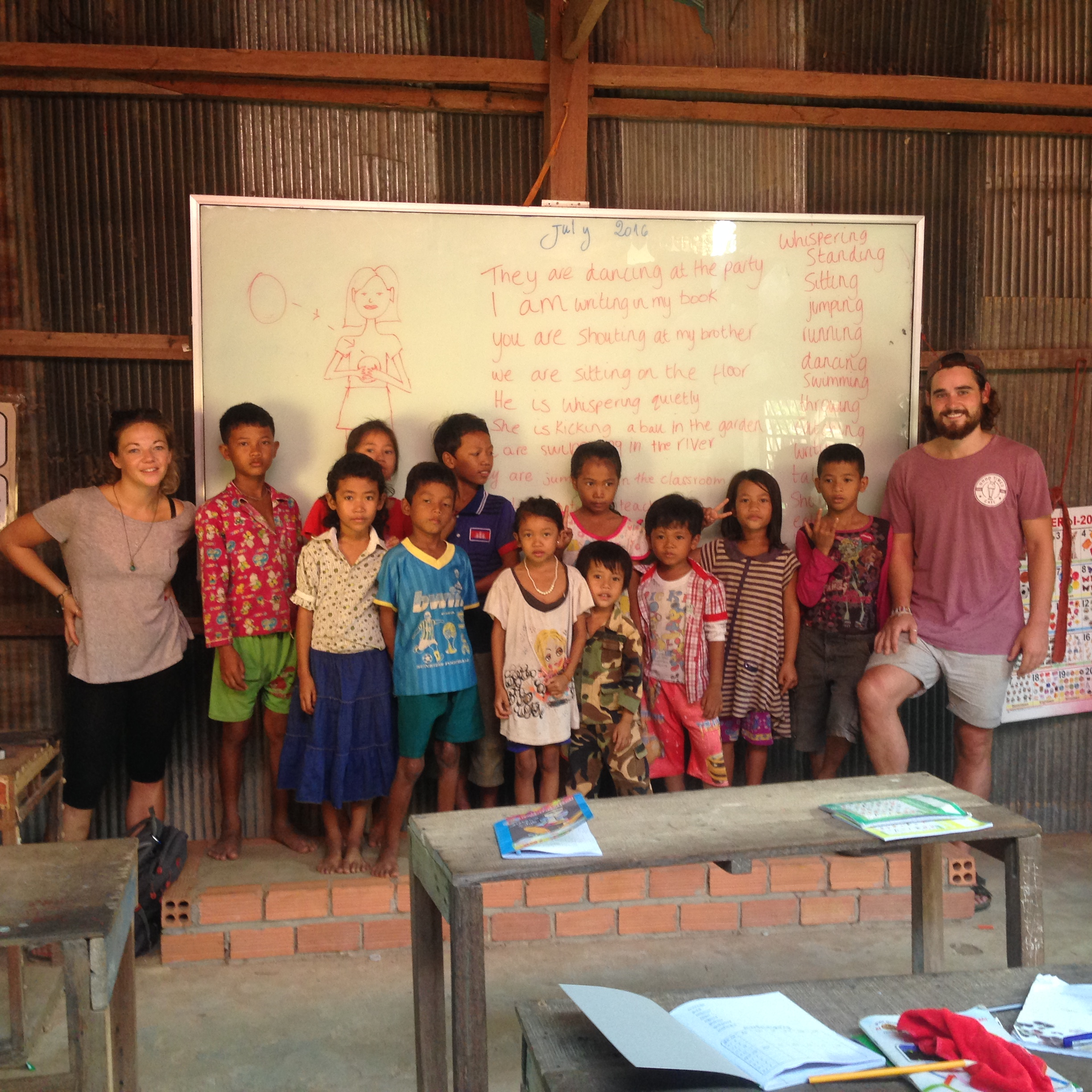 Siem Reap – Teaching & Touch A Life